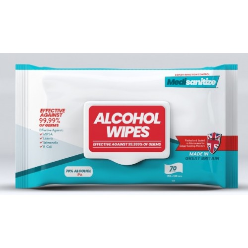 Surface Alcohol Wipes