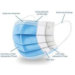 Medical-Face-Masks-Type-11R-Blue
